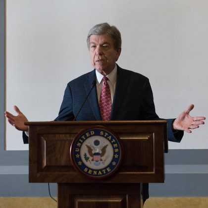 Senator Roy Blunt, (R-MO) - one of the authors of the Craft Beverage Modernization and Tax Reform Act of 2017