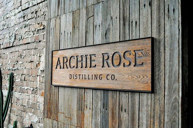 The entrance to the Archie Rose Distilling Co., Sydney, Australia.