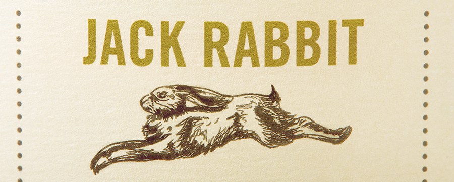 Jack Rabbit label