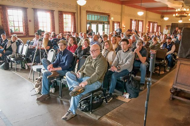 The Gin Summit packed Blackberry Hall, Saturday, March 24, 2018, at McMenamins Edgefield.