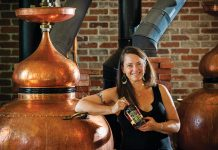 Karen Hoskin of Montanya Distillers