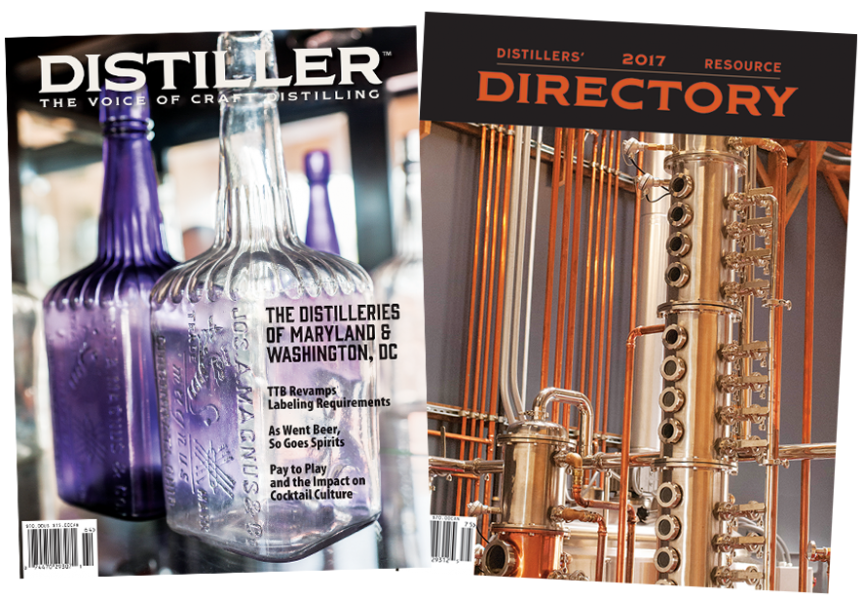 Distiller magazine and ADI Directory covers