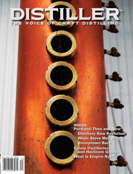 cover of Winter 2017/2018 Distiller magazine