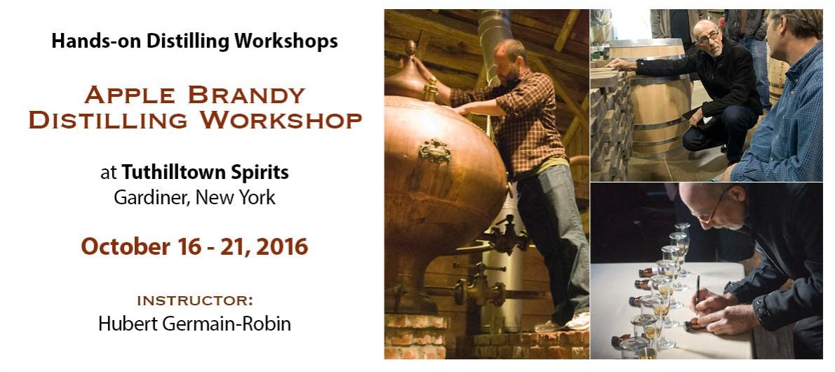 Hands-on Apple Brandy Workshop