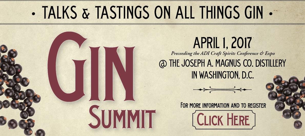 Gin Summit April 1, 2017