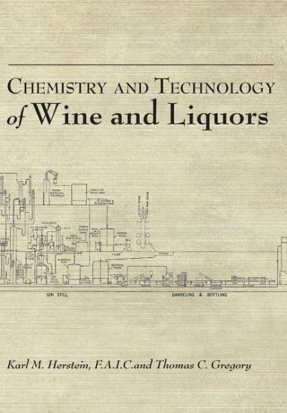 Chemistry and Technology of Wines & Liquors